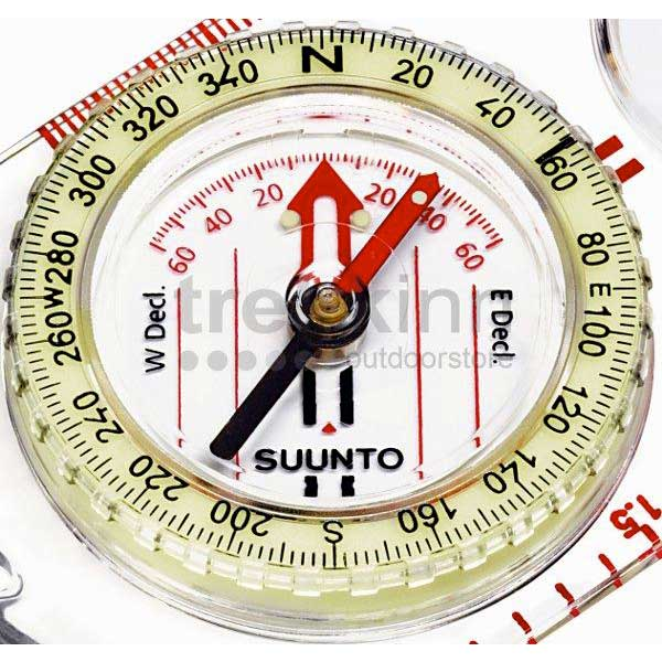 6889b767d Suunto A-30 Nh Usgs Compass Northern Hemisphere White, Trekkinn