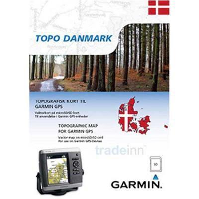 Garmin Topo Danmark Micro Sd Multicolor Trekkinn