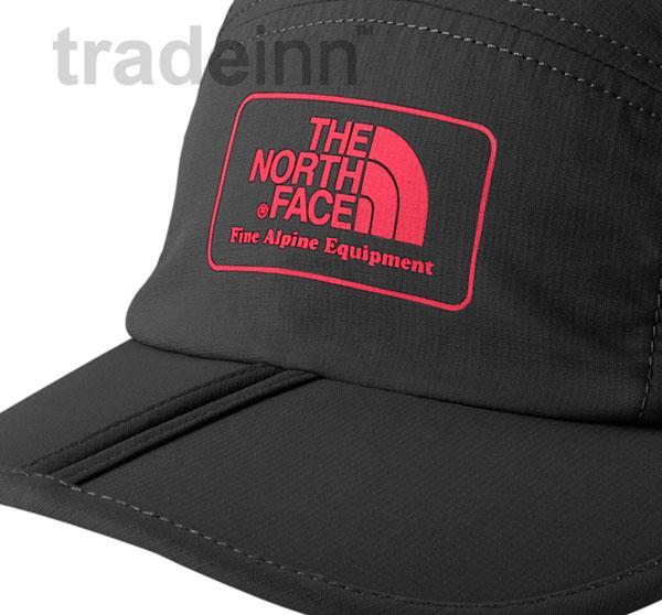 the north face hyvent logo baseball cap horizon folding bill uk ebay