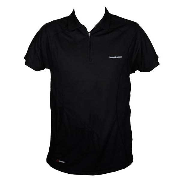 Polos respirants Trangoworld noirs homme