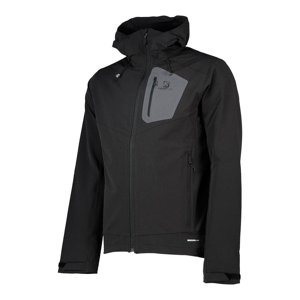 Salomon Ranger Softshell Jacket Musta 3bb5c4b305