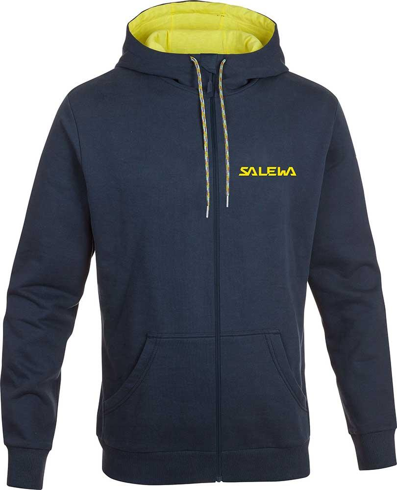 Salewa Solidlogo Co Full Zip Hoodie