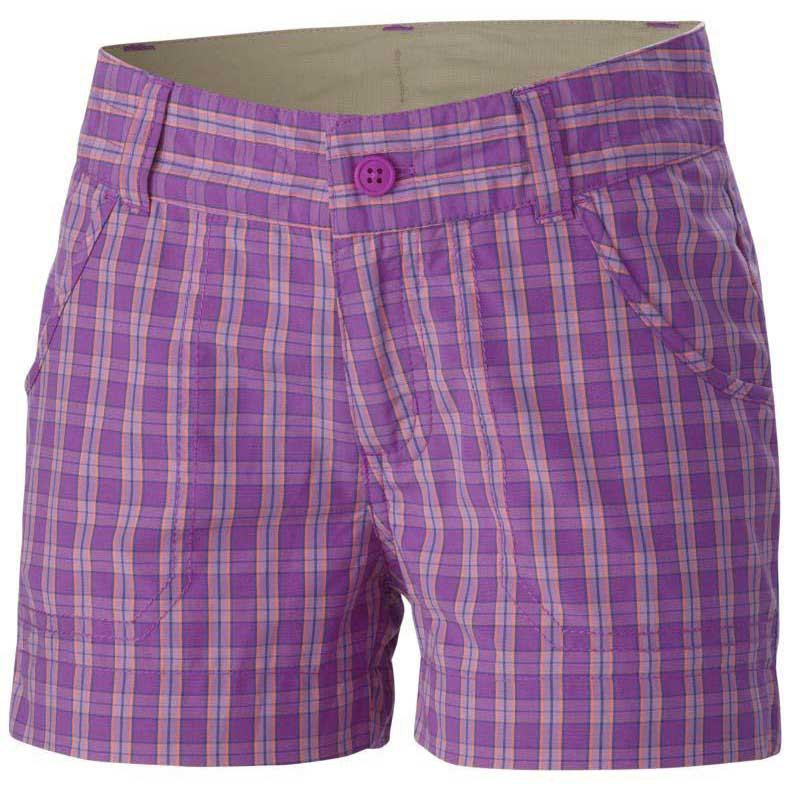 Columbia Silver Ridge III Short Foxglove Plaid Youth