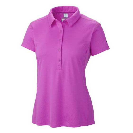 COLUMBIA Zero Rules Polo Shirt Foxglove