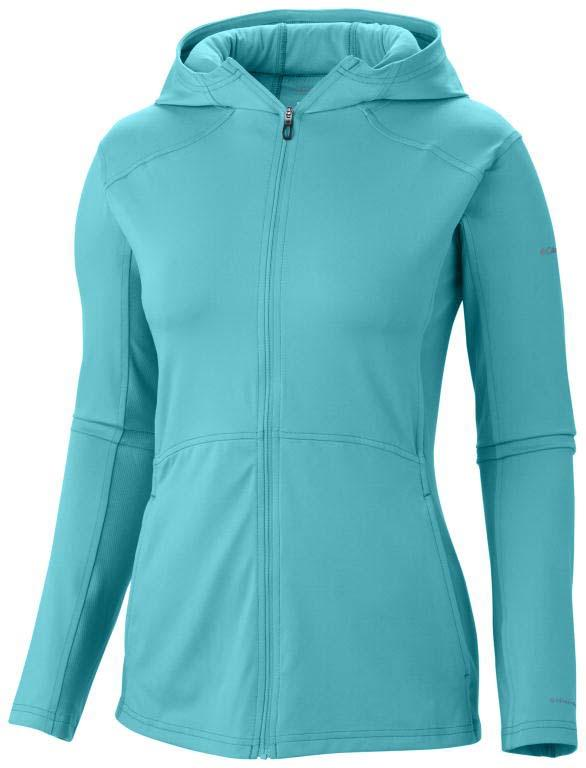 Columbia Trail Crush Sporty Hoodie Geyser