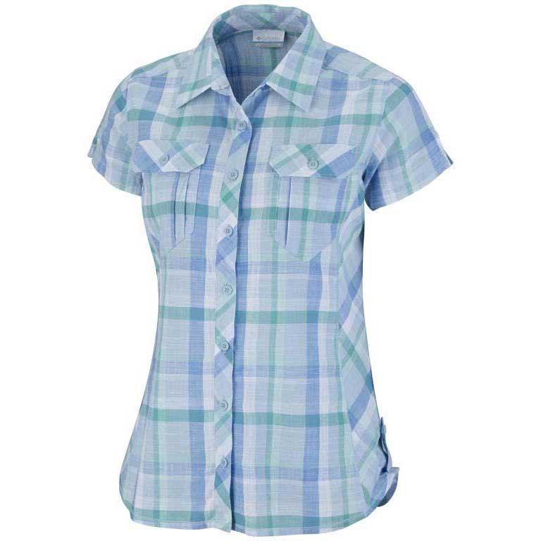 Columbia Camp Henry S/S Shirt Air / Plaid