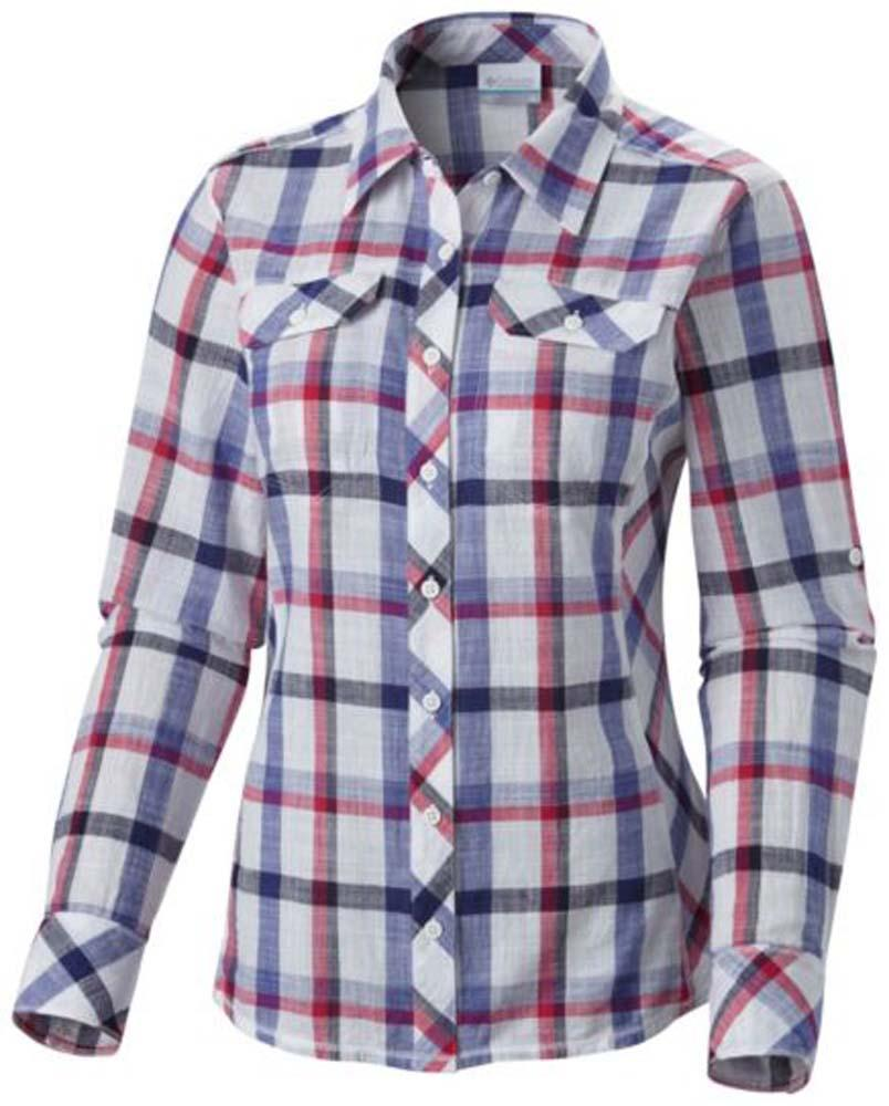 Columbia Camp Henry L/S Shirt Lotus / Plaid