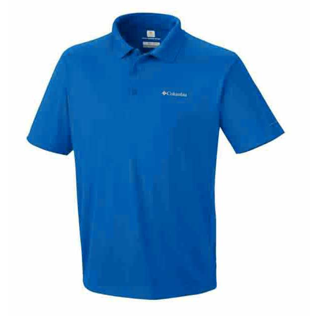 columbia zero rules polo shirt hyper blue buy and offers