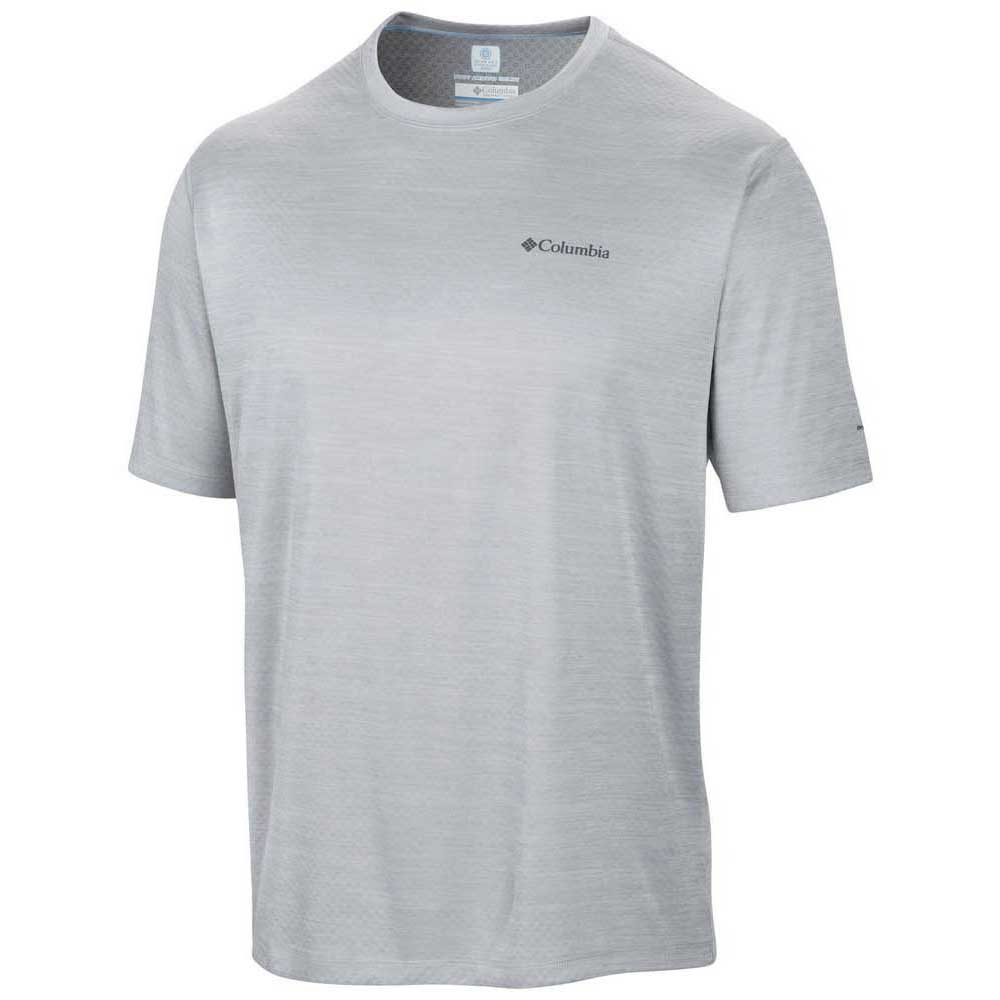 Columbia Zero Rules S/S Shirt Columbia Grey Heather