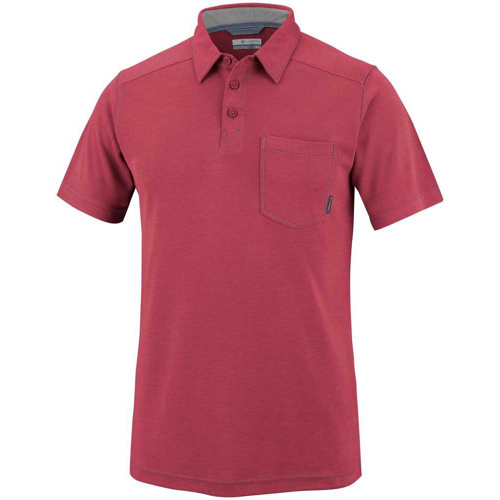 Columbia Sun Ridge II Novelty Polo Rocket