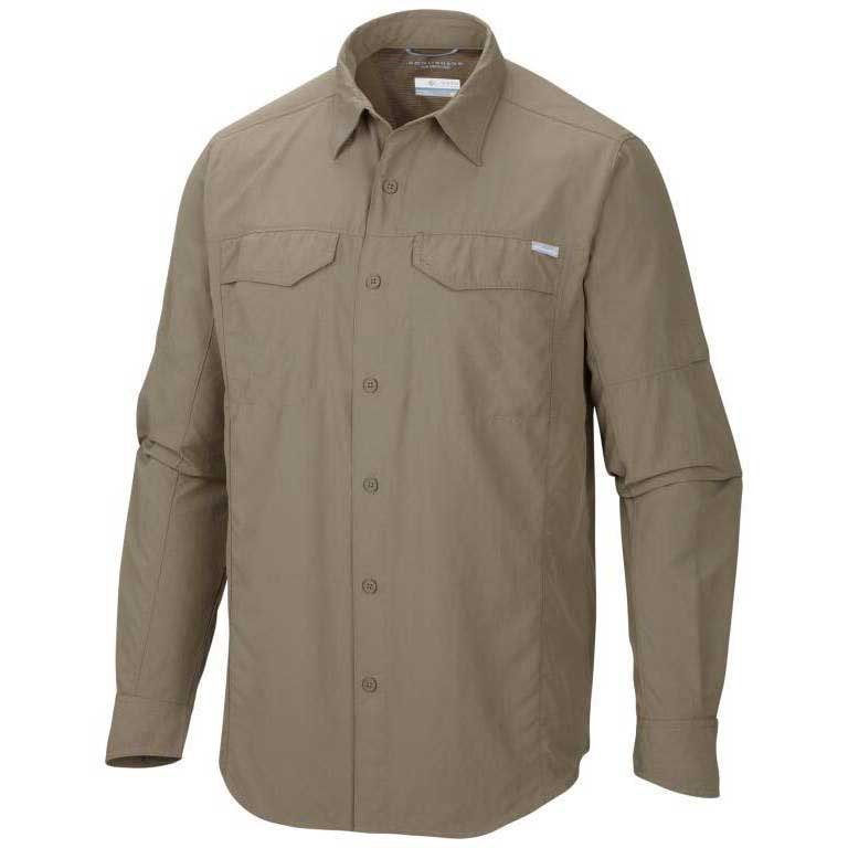 Columbia Silver Ridge L/S Shirt Wet Sand