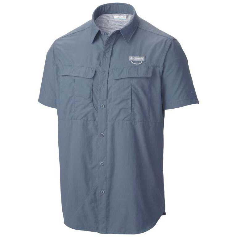 Columbia Cascades Explorer S/S Shirt Mountain