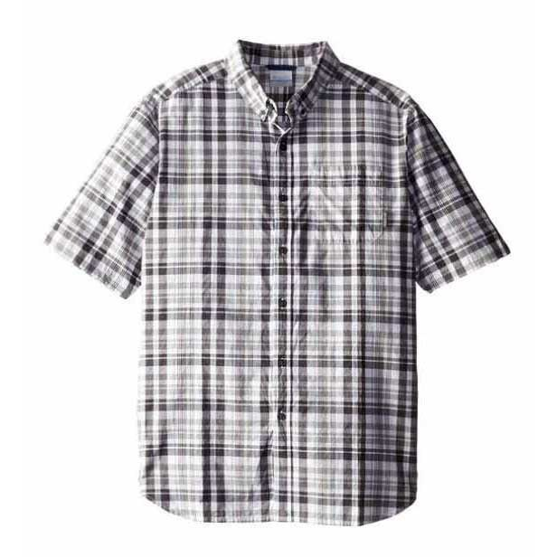 Columbia Rapid Rivers II S/S Shirt Shark / Plaid