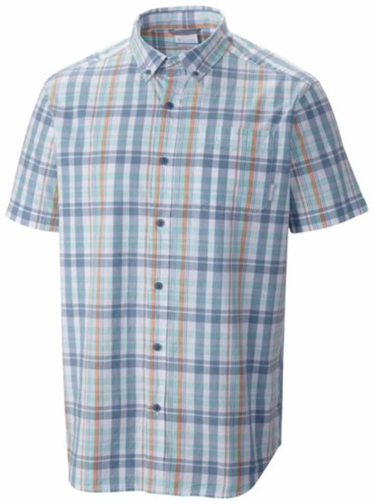Columbia Rapid Rivers II S/S Shirt Dark Mirage / Plaid