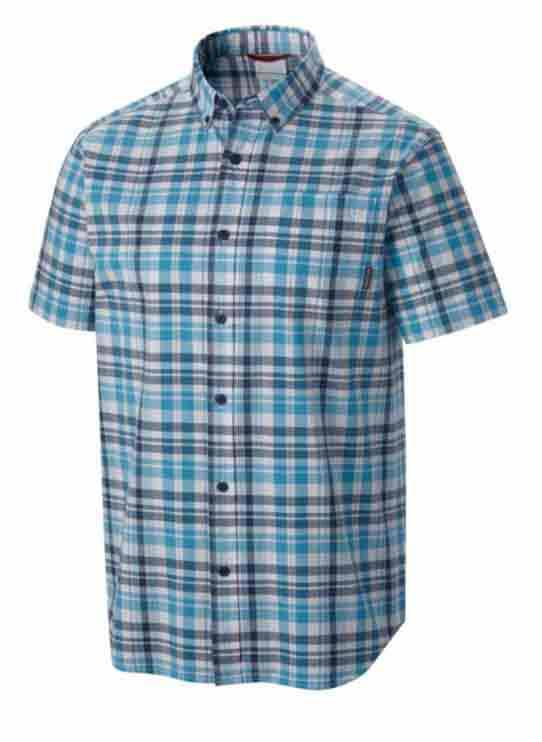 COLUMBIA Rapid Rivers II S/S Shirt Rapid / Plaid