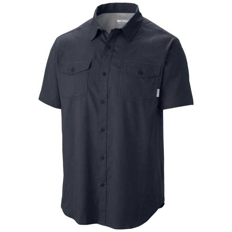 Columbia Utilizer II Solid S/S Shirt Abyss