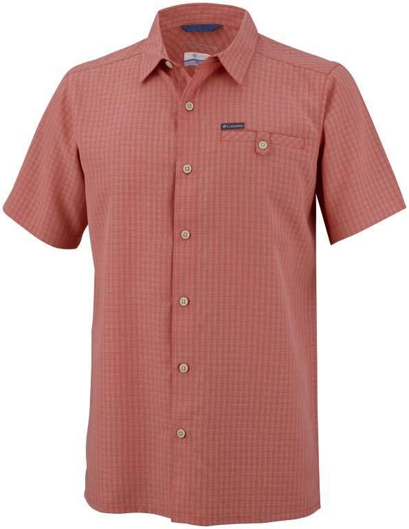 COLUMBIA Declination Trail II S/S Shirt Sunset