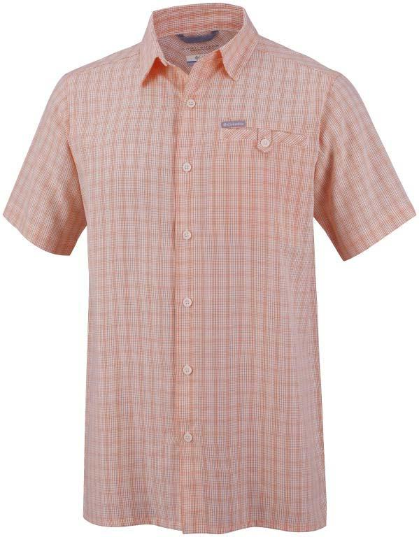 COLUMBIA Declination Trail II S/S Shirt Tangy Check