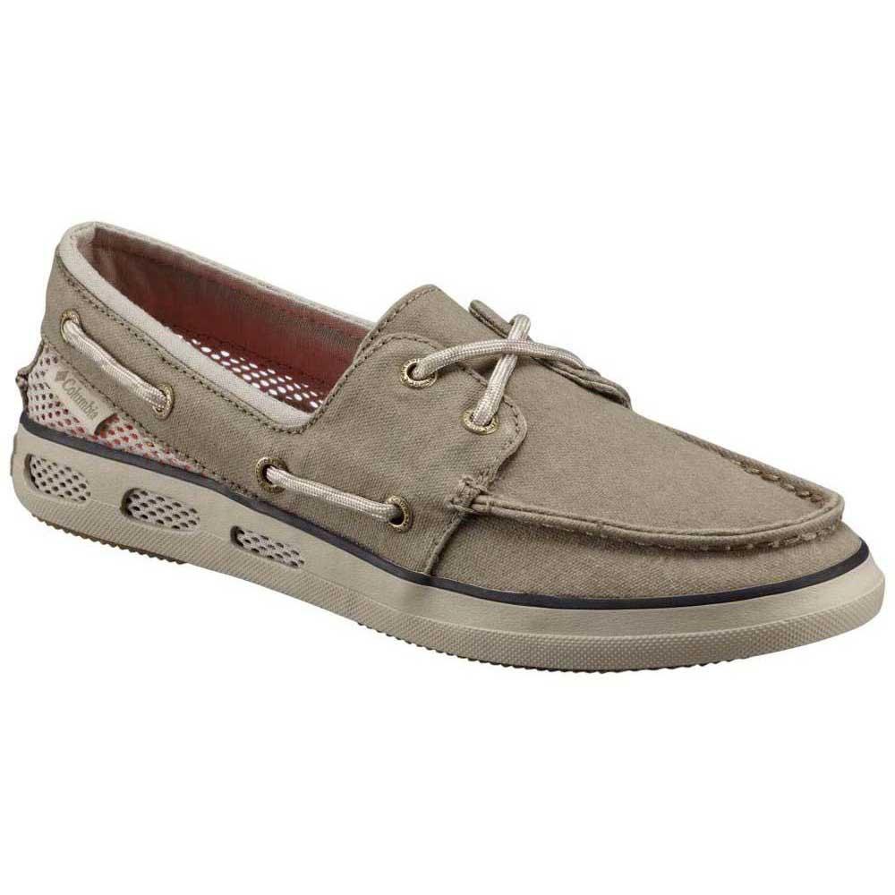 Womens Vulc N Vent Canvas Boat Shoes Columbia d2CjR
