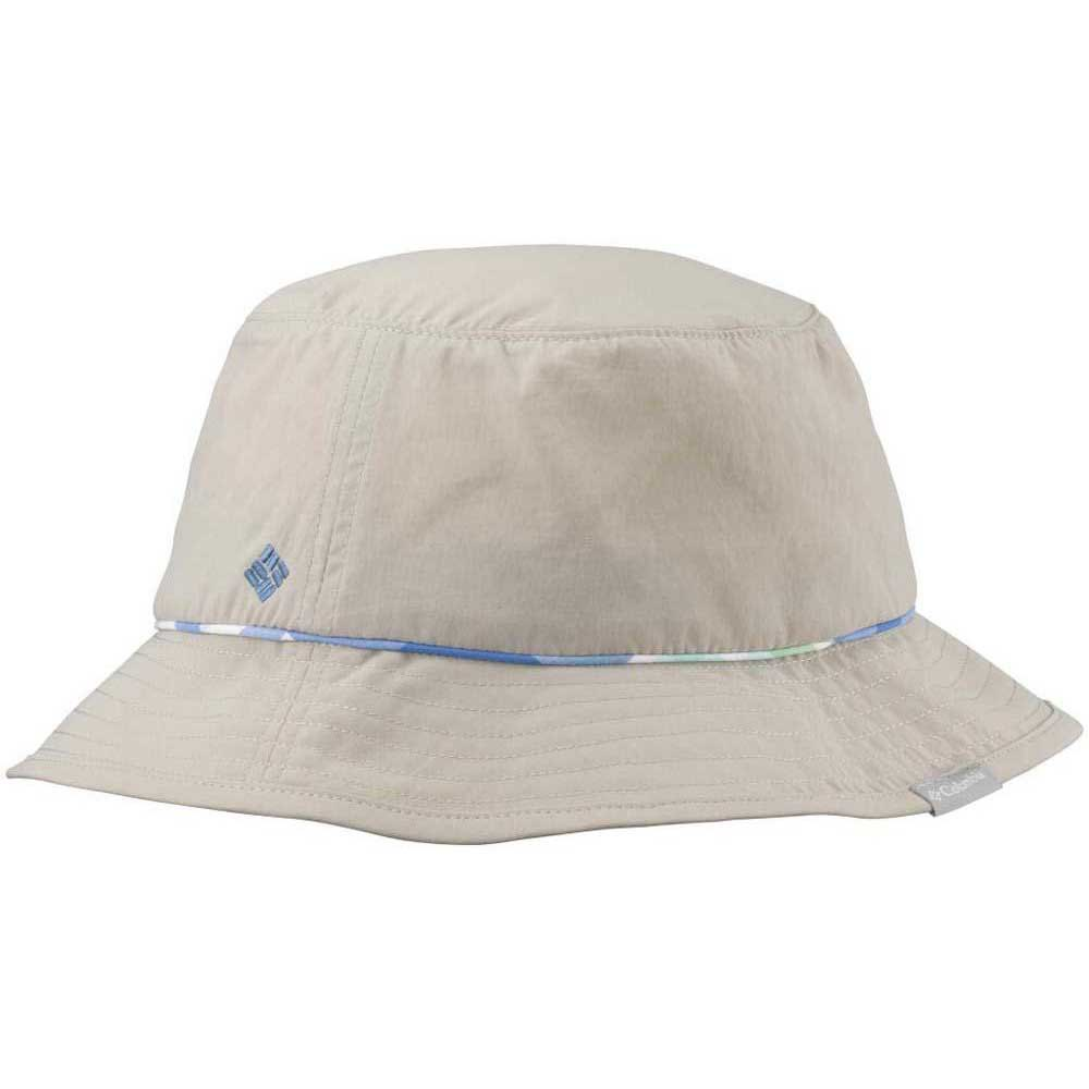 Columbia Bahama Bucket Hat Fossil / Harbor Blue Shadow Check