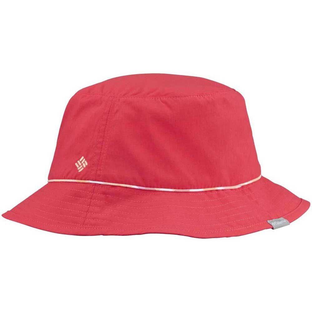 Columbia Bahama Bucket Hat Red Shadow Check