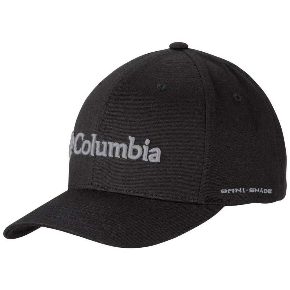 Columbia Columbia Fitted Ballcap Black f6e0c2e8116