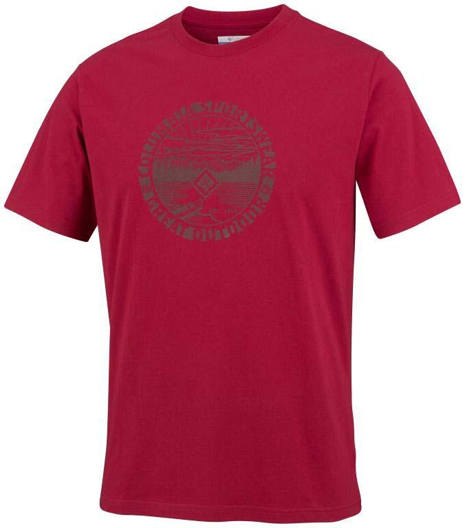 COLUMBIA Outdoor Horizon II S/S Tee Rocket