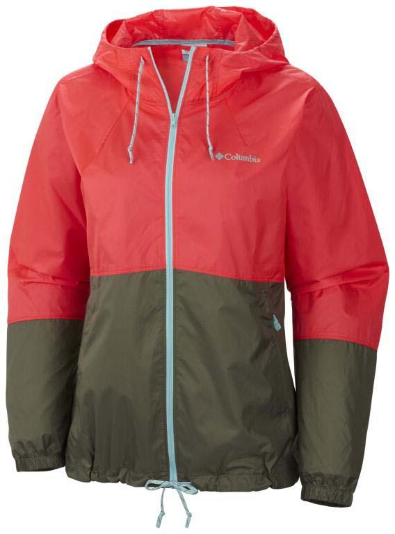 COLUMBIA Flash Forward Windbreaker Laser