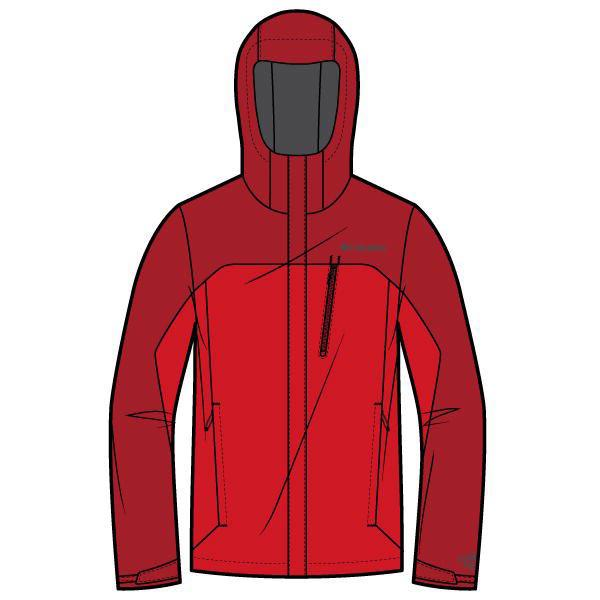 Columbia Pouring Adventure Bright Red