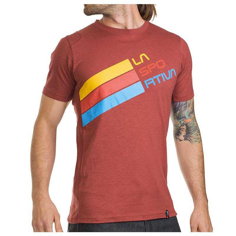 682d01b2b2bc7 La sportiva Stripe Logo T Shirt comprar y ofertas en Trekkinn