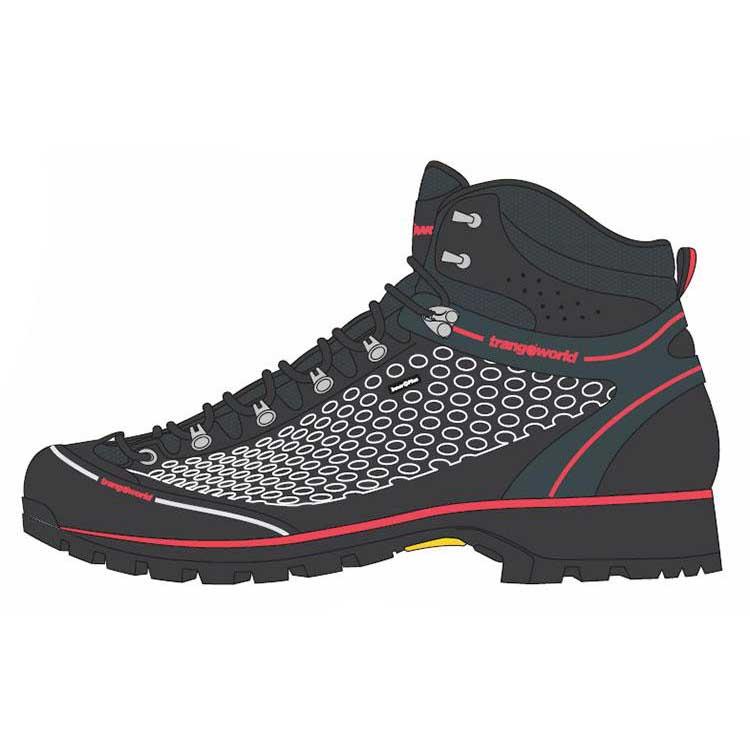 Trangoworld Zapatillas Outdoor Xico Negro EU 45 kRne4