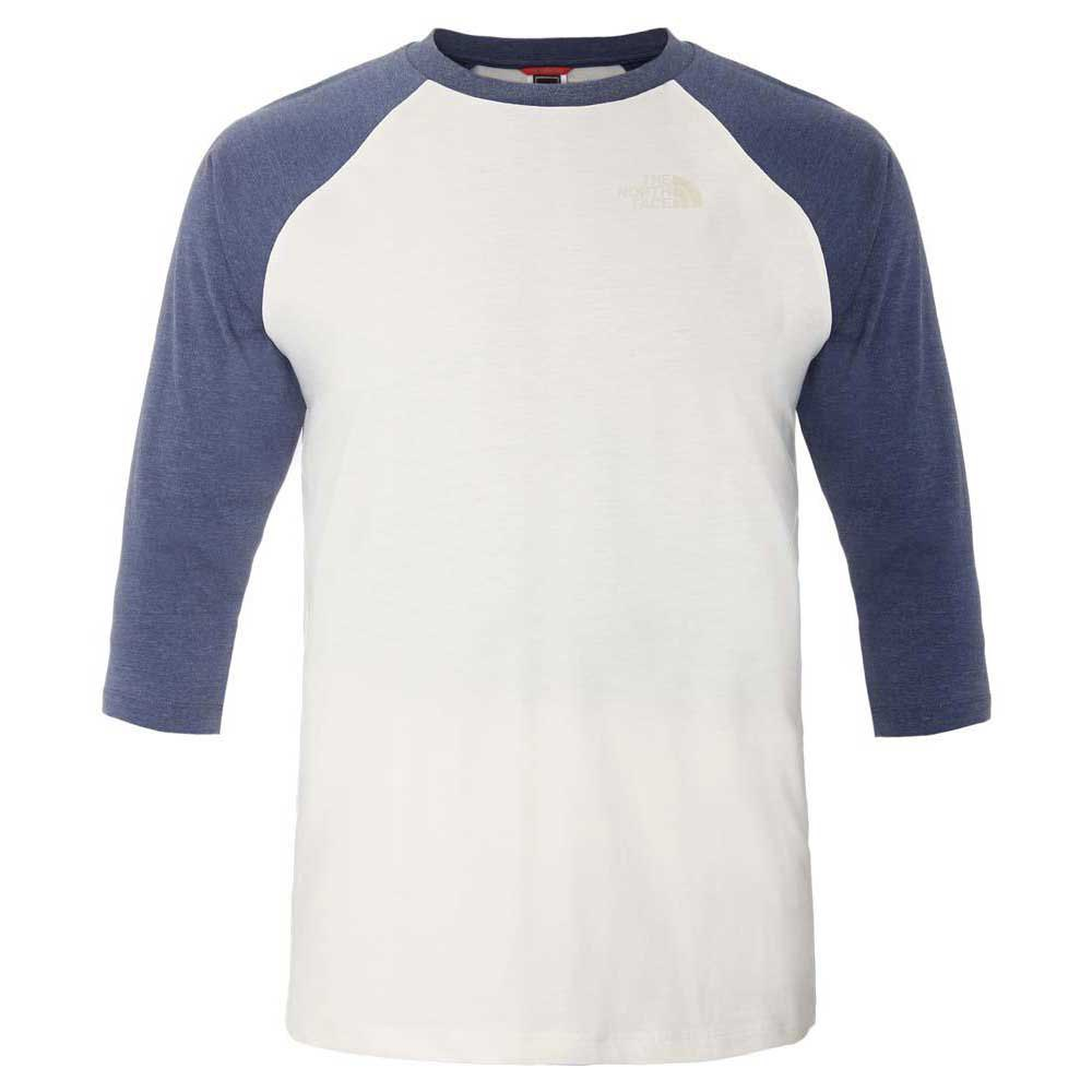 The north face 3/4 Sleeve Raglan Tee