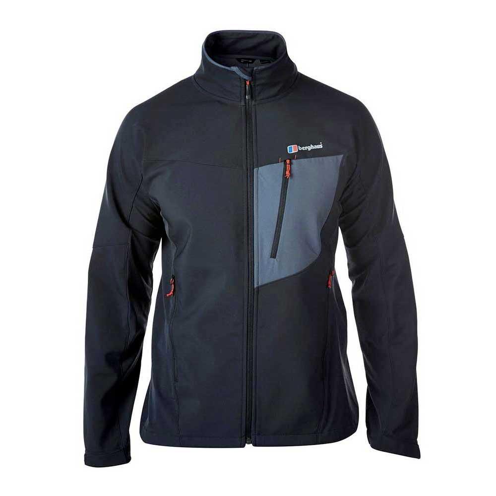 37b60f1434 Berghaus Ghlas Soft Shell Black buy and offers on Trekkinn
