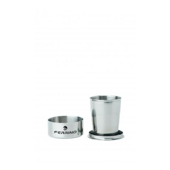 Ferrino Stainless Steel Foldable Tumbler