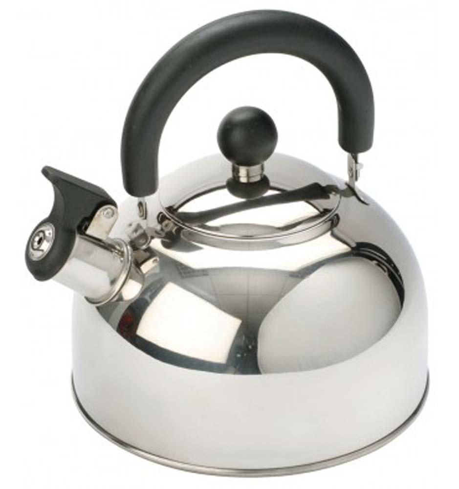 Vango 1.3L Stainless Steel Kettle With Folding Handle