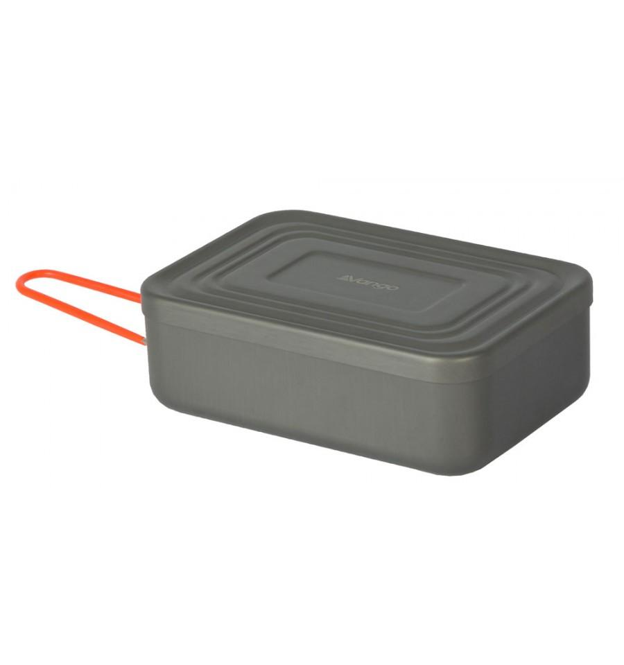 Vango Hard Anodised Mess Tin With Lid 17.5 cm
