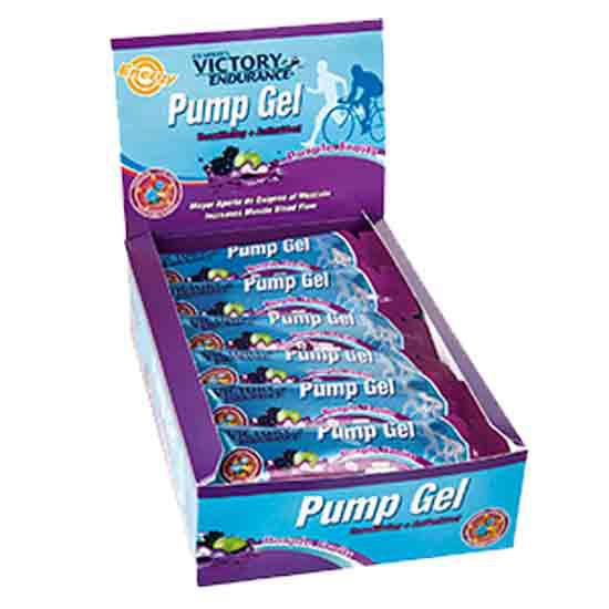 Weider Victory Endurance Gel Pump 42 g x 24 Purple Fruit