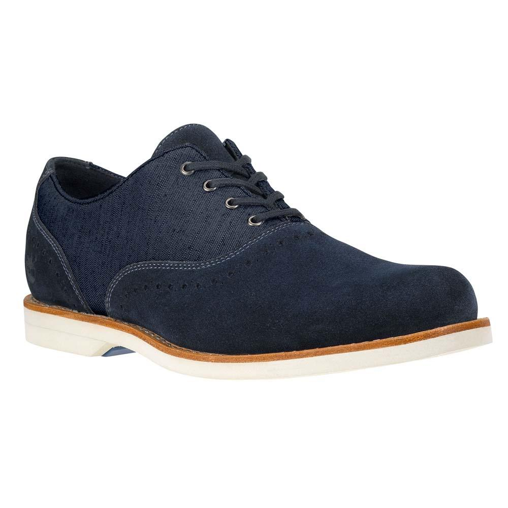 TIMBERLAND Stormbuck Lite Leather And Fabric Brogue
