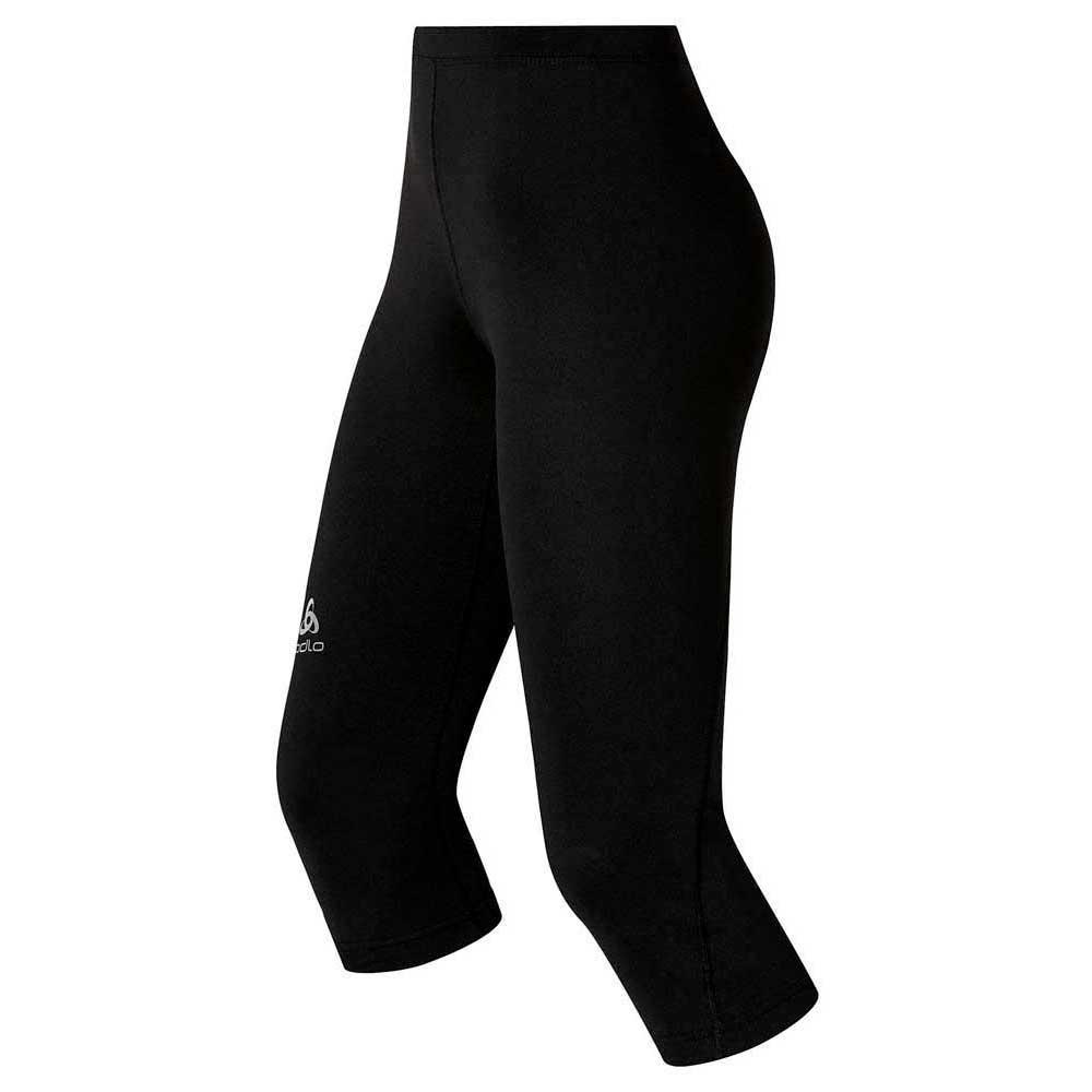 4f0125f7a50 Odlo Tights 3 4 Sliq Black buy and offers on Trekkinn