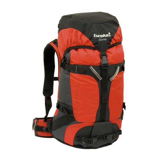 Eureka Ouray Red / inc. raincover 35L