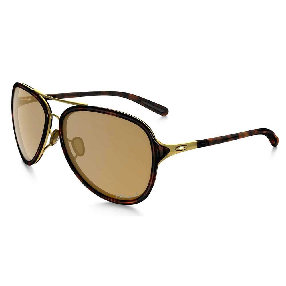 Oakley Kickback Satin Gold Polarized