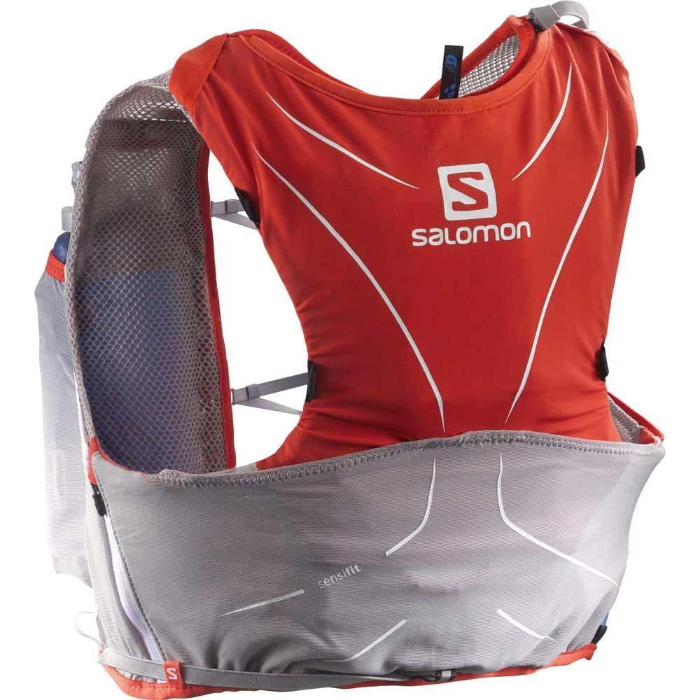 b4a6dab640 Salomon S-Lab Adv Skin3 5L Set Orange buy and offers on Trekkinn
