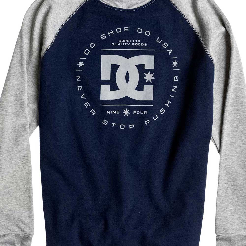 DC SHOES Rebuilt Crew Raglan Boys