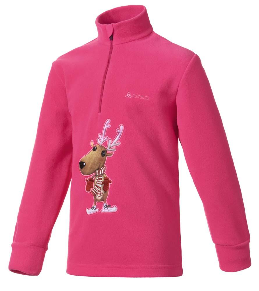 ODLO Midlayer 1/2 Zip Odli Reindeer Junior