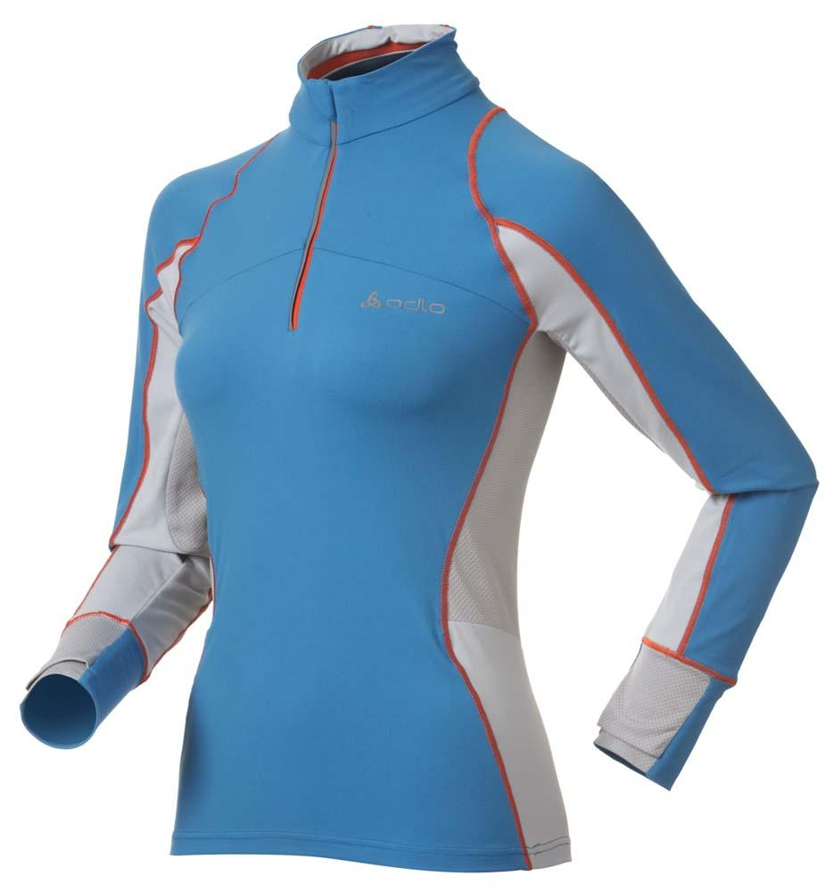 ODLO Stand-up Collar L/s 1/2 Zip Istra