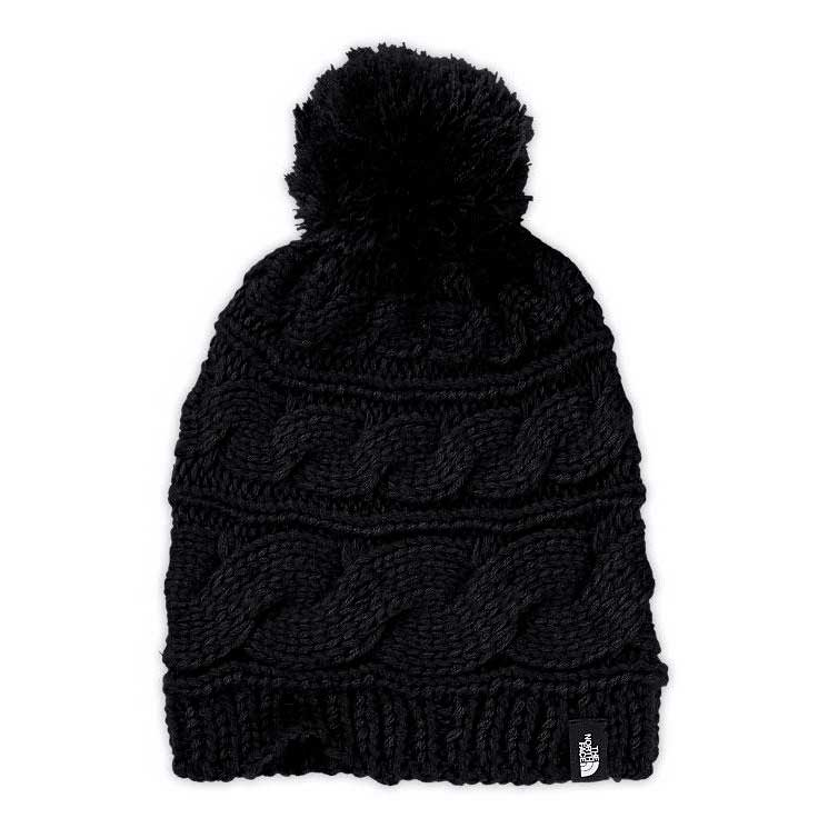 The north face Tri Cable Pom Beanie