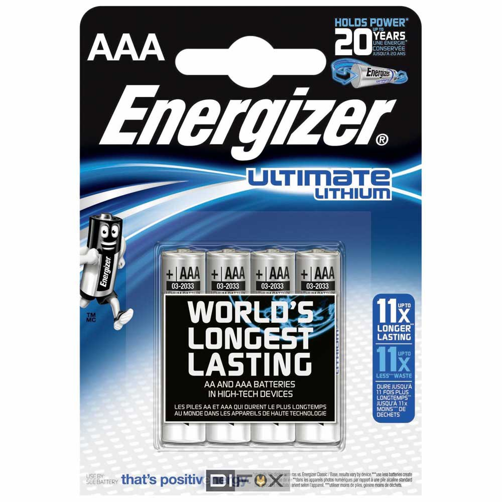 Energizer Ultimate Lithium