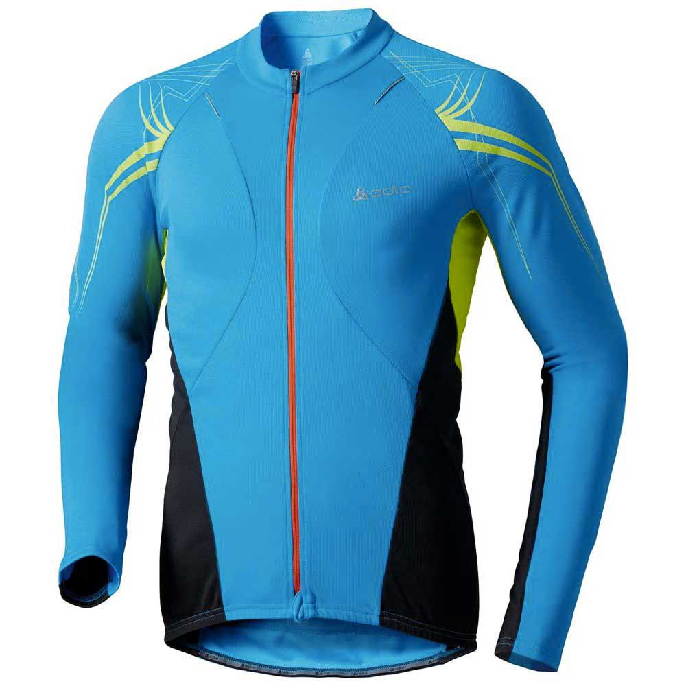 Odlo Stand Up Collar L/S Full Zip Sign X