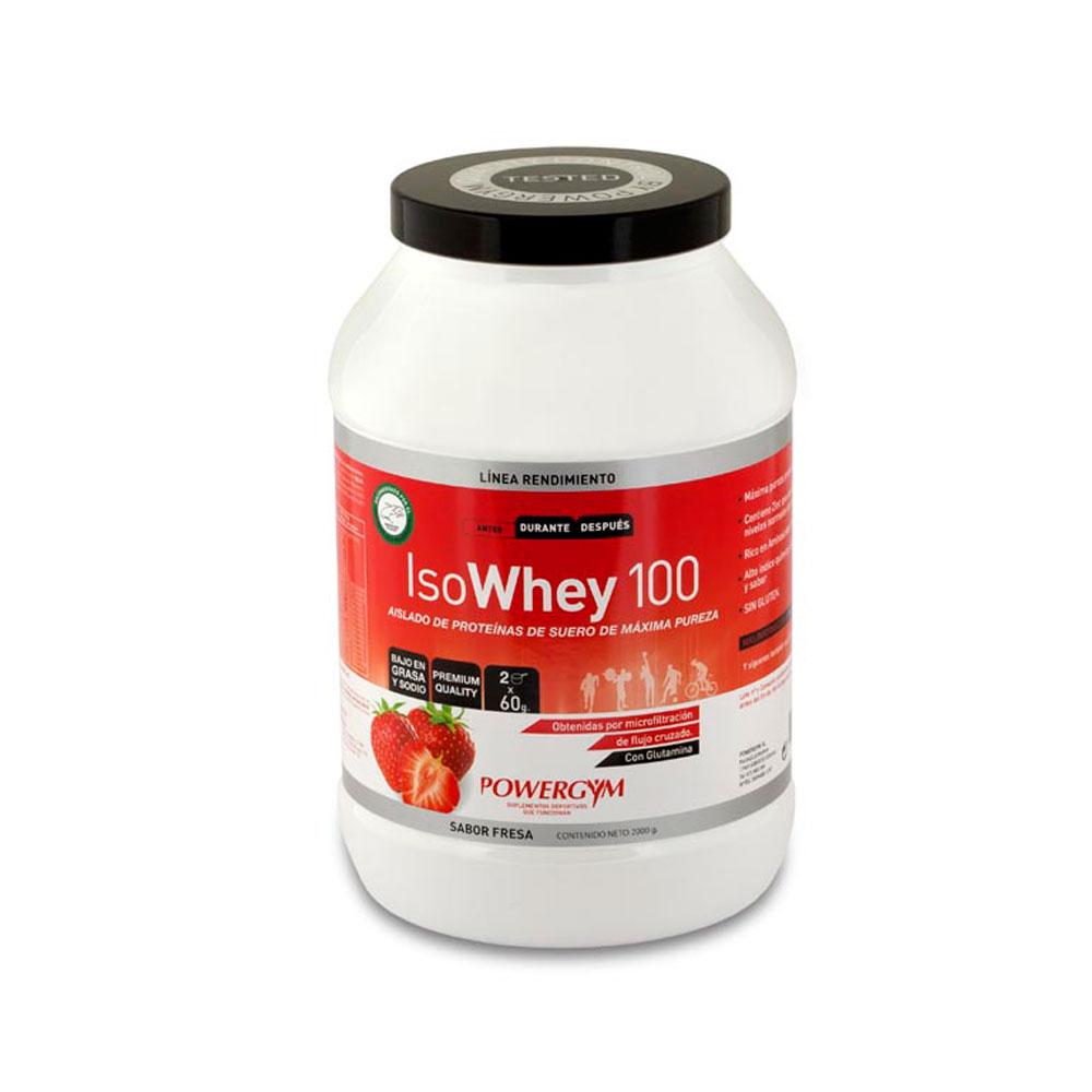 Powergym Isowhey 2 Kg Strawberry