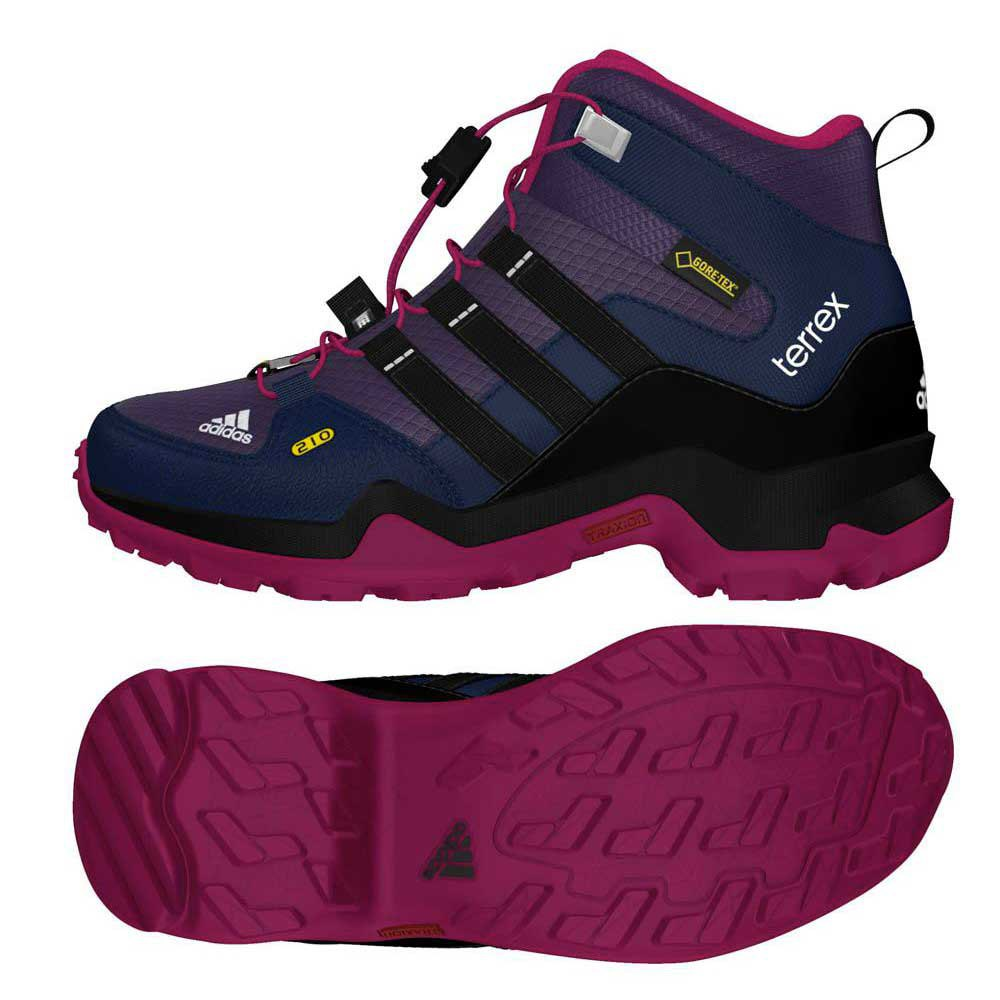 adidas terrex mid gtx k buy and offers on runnerinn. Black Bedroom Furniture Sets. Home Design Ideas